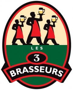 logo 3BRASSEURS
