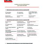 Candidats aux postes d'administrateurs pour l'année 2019-2020-1