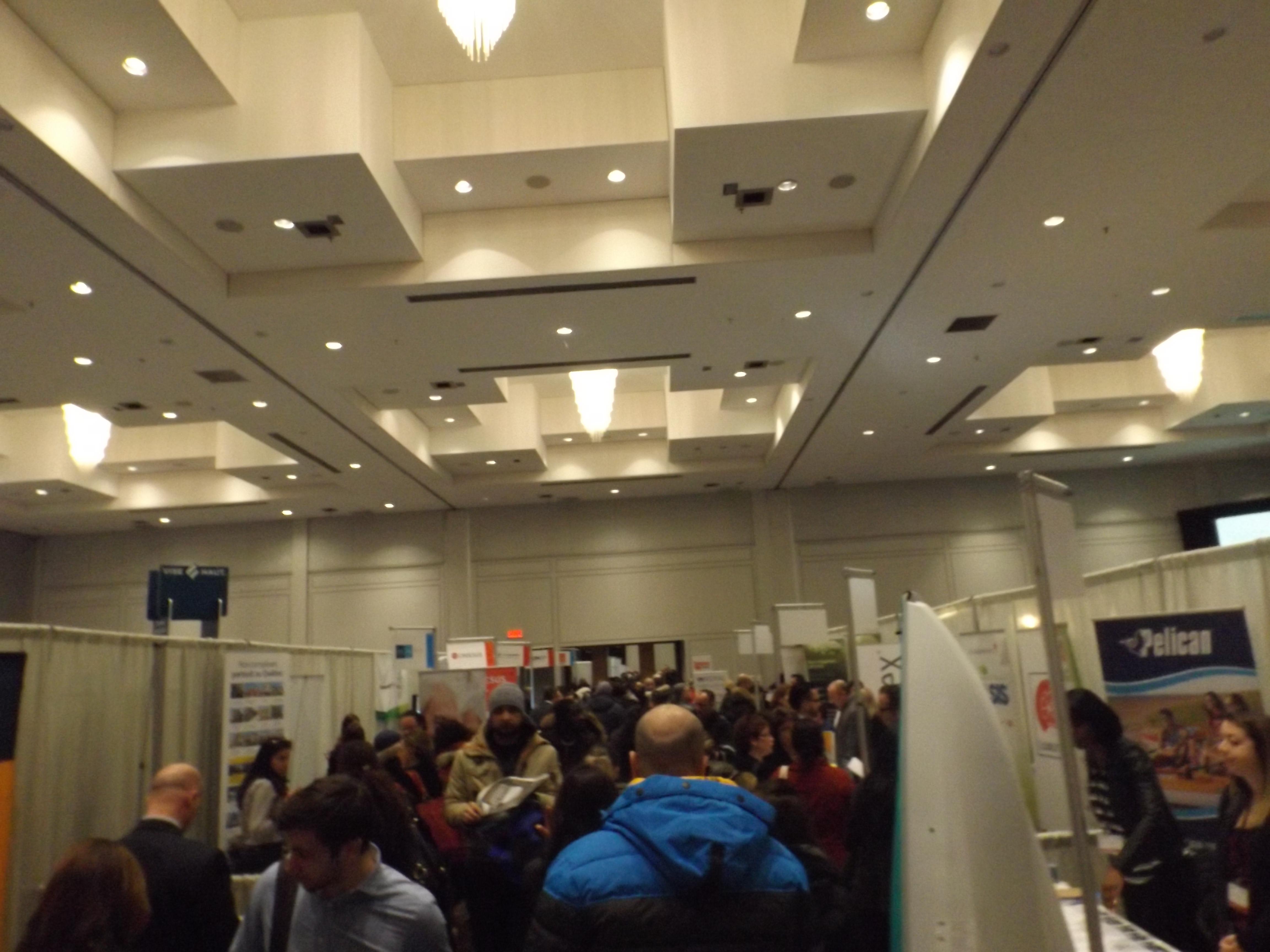Quelque 2000 visiteurs la premi re dition du salon des for Salon des ecoles de commerce