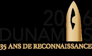 Dunamis logo 35ans BK