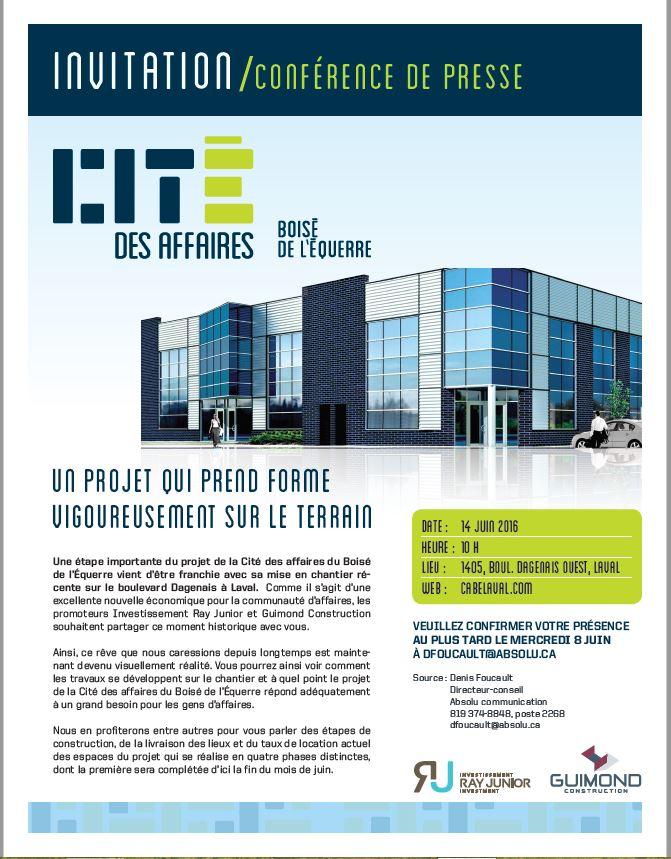 Cité des Affaires_Invitation 14 juin