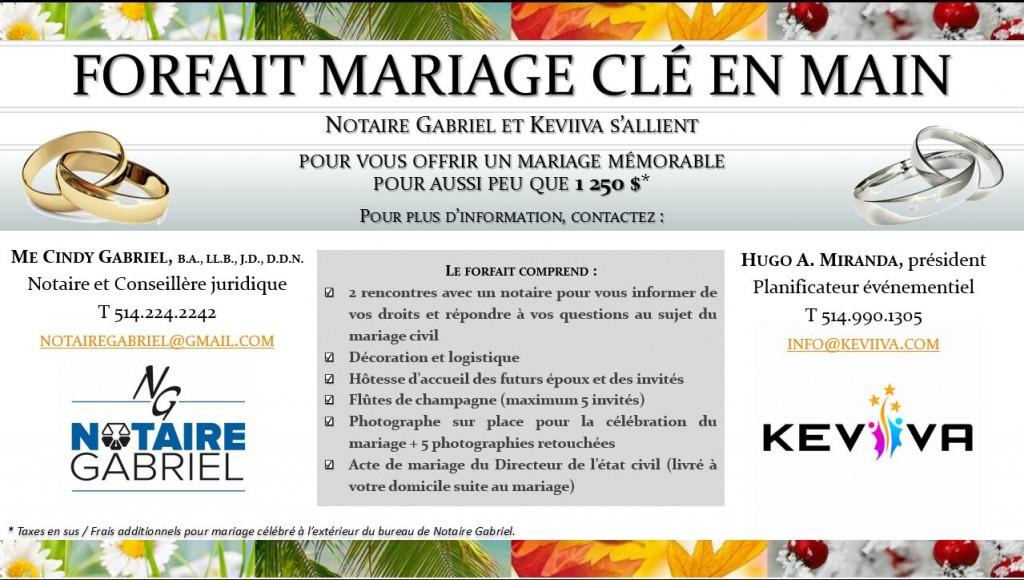 Mariage Clé en main 2