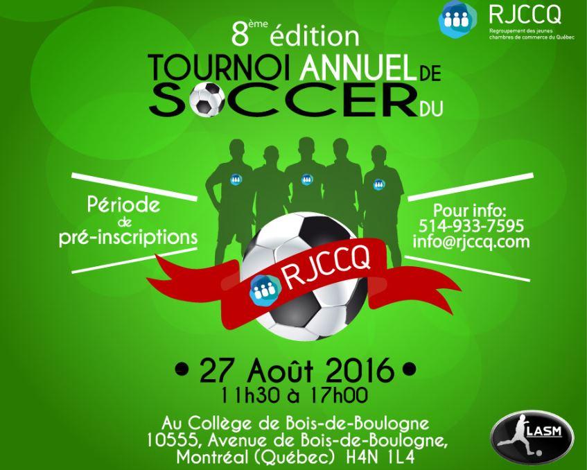 Derni re chance tournoi de soccer du rjccq chambre de for Chambre de commerce ci