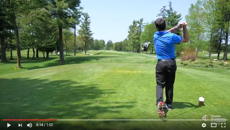 Image vidéo tournoi de golf CCIL