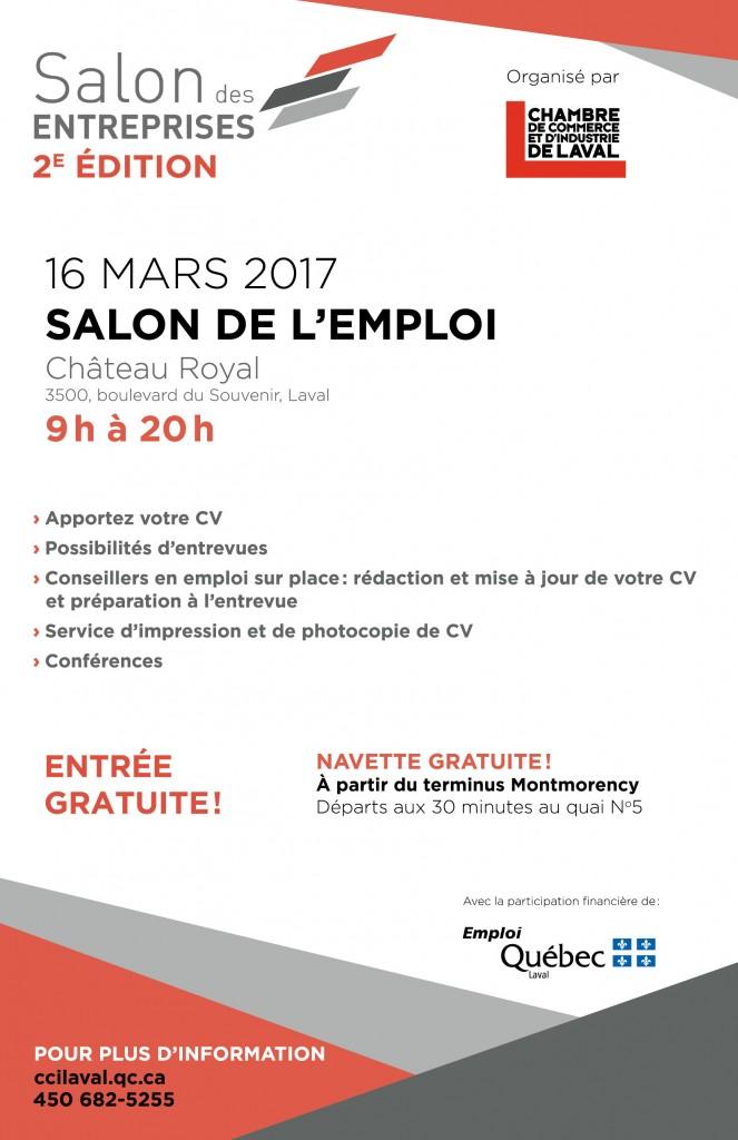 Salon de l emploi salon des entreprises 2e dition for Salon des ecoles de commerce