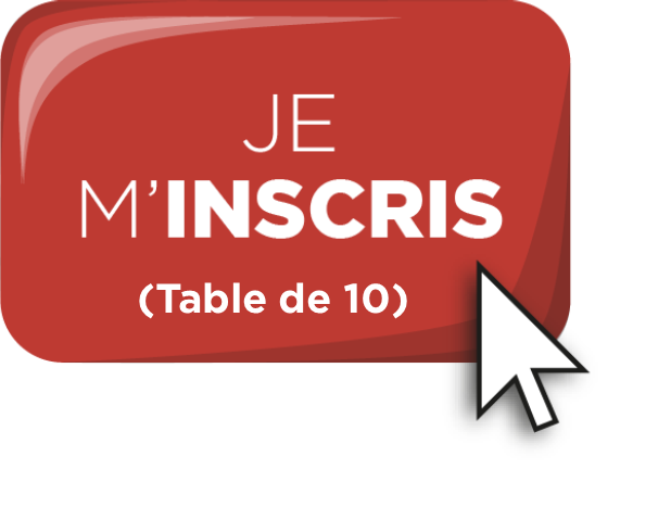 Bouton inscription - Table de 10