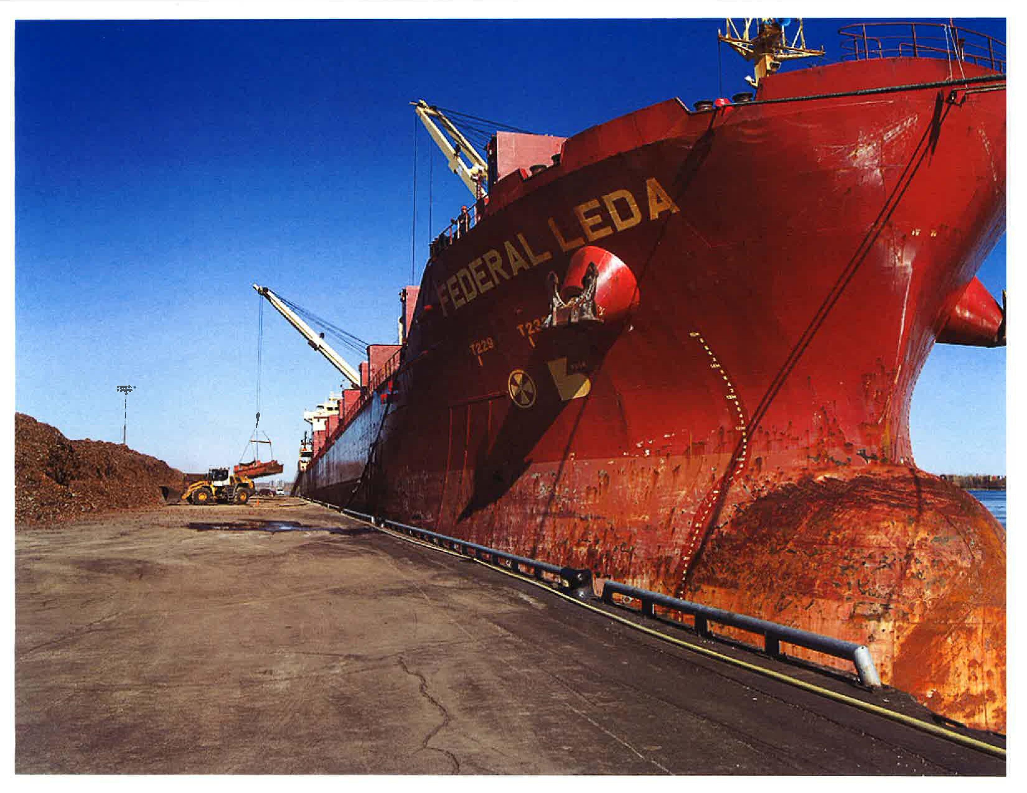 Premier bateau d acier recycl pour tmr chambre de for Chambre de commerce et d industrie de laval