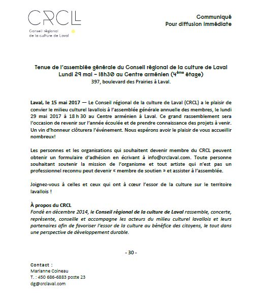 AGA CRCL