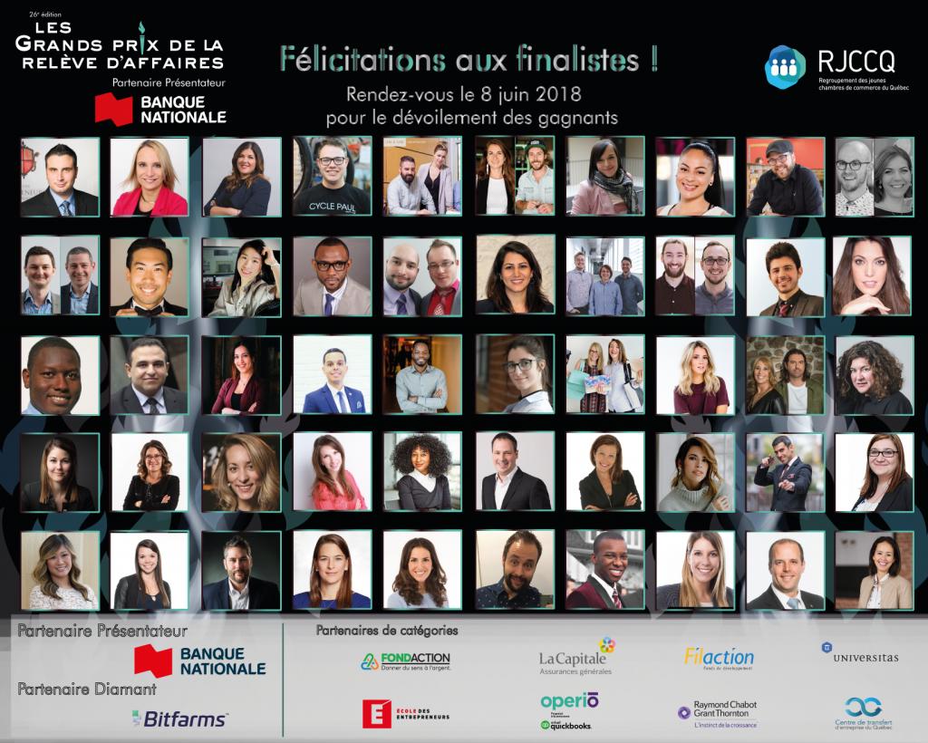 mosaique finalistes rjcc 2018