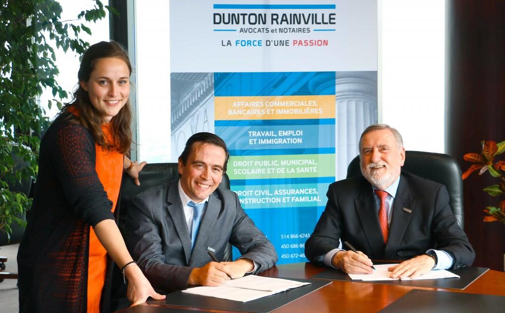 Dunton Rainville et Lex Start