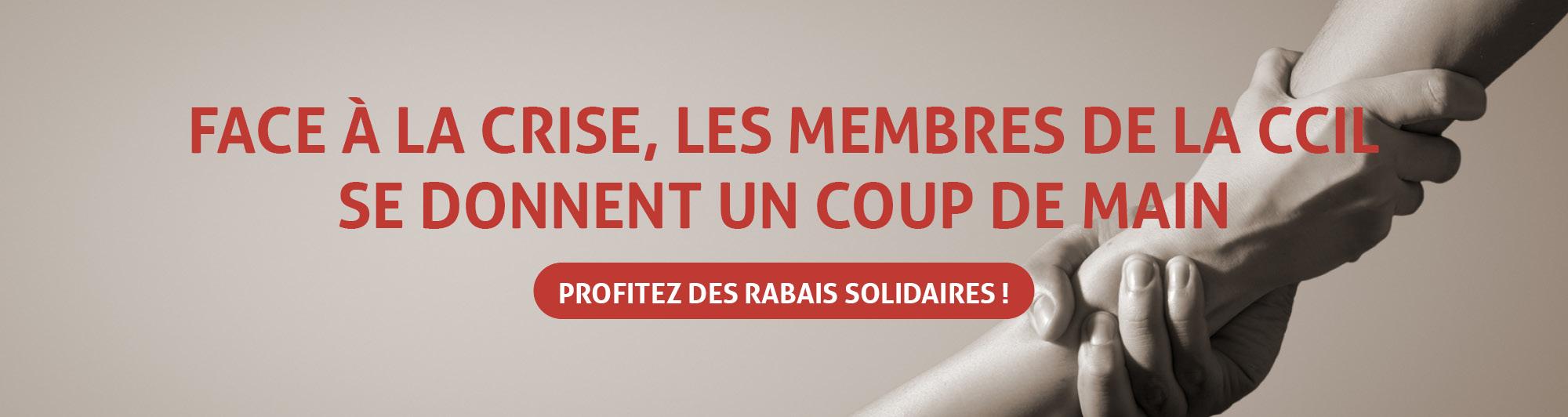 Les rabais solidaires des membres de la CCIL